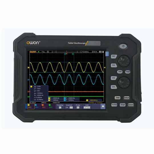 OWON TAO3104 4CH 100MHz Tablet Digital Oscilloscope
