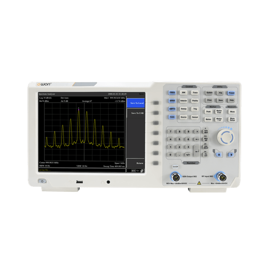 OWON XSA1015TG 9kHz - 1.5GHz Series Spectrum Analyzer