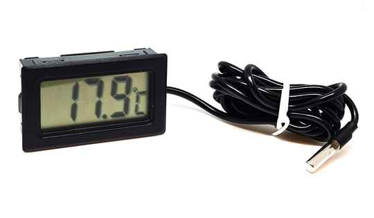 New: Thermometer with cable
