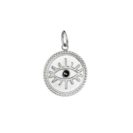 Charm All Eyes On You Zilver