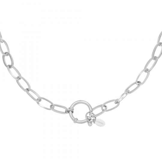 Ketting Chain Roos Zilver
