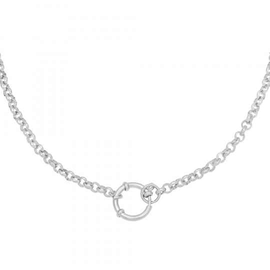 Ketting Chain Suze Zilver