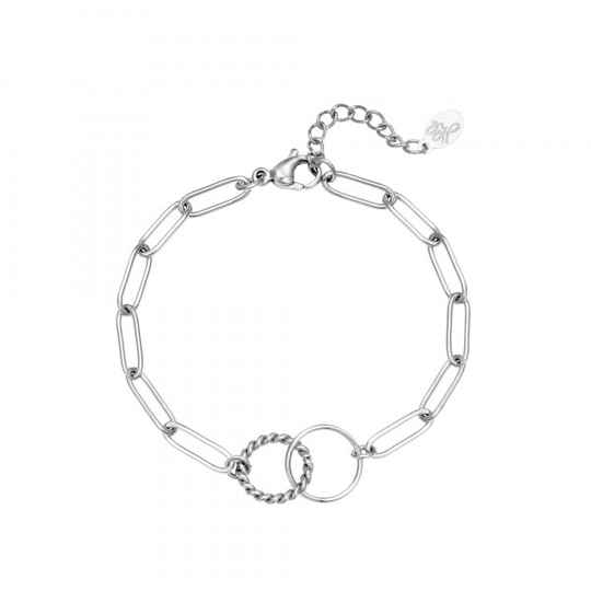 Armband Switched Zilver