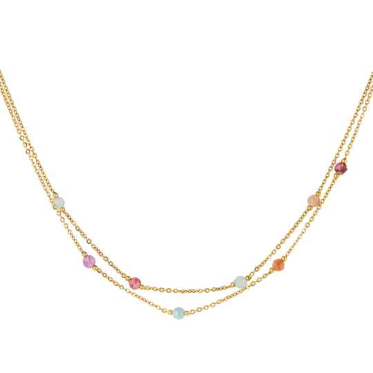 Ketting Colorful Strass