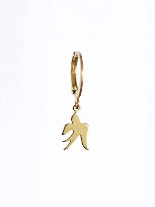 Oorbel Just Bird Goud (1 piece)
