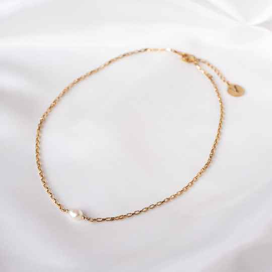Ketting Only Pearl Goud