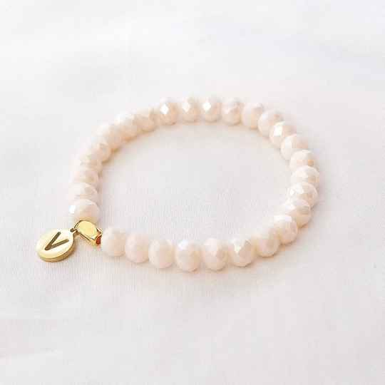 Armband Silk Off White