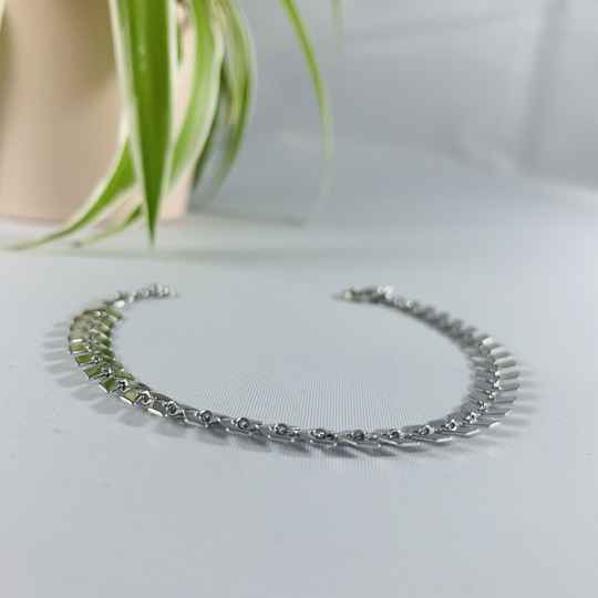 Pijl armband Silver plated