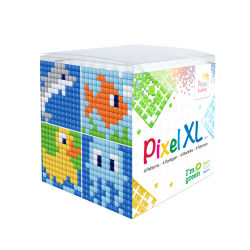 Pixel XL kubus set water