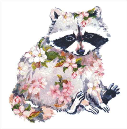 Spring racoon