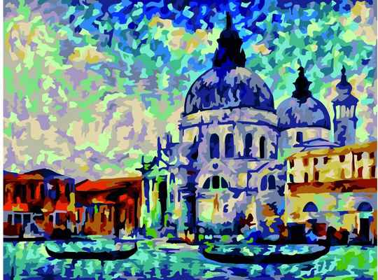 Colourful venice