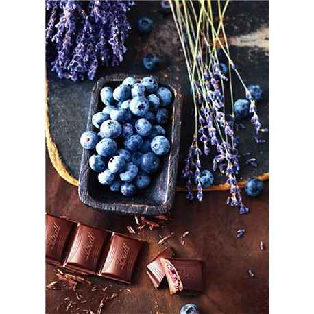 Chocolate and Blueberries