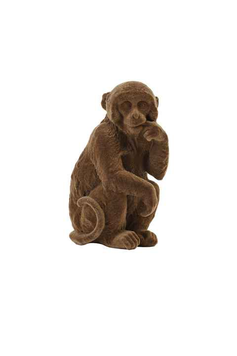 Ornament Monkey Velvet