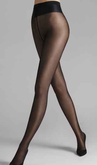 Wolford.NEON 40 TIGHTS BLACK.