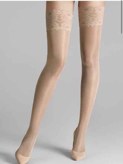 Wolford SATIN TOUCH 20 STAY-UP COSMETIC.