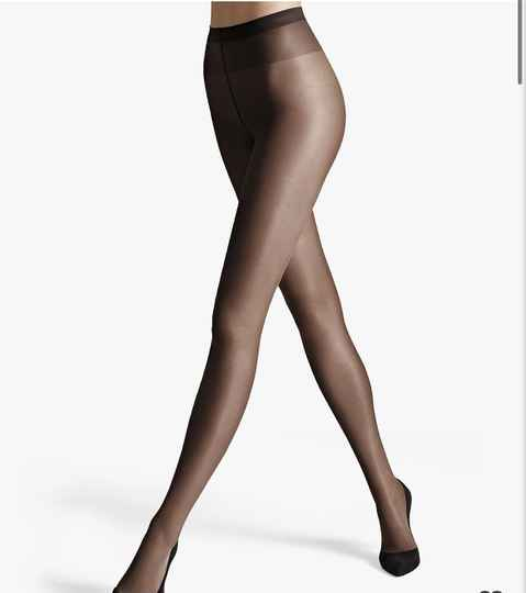 Wolford Satin Touch 20 Tights • Nearly Black