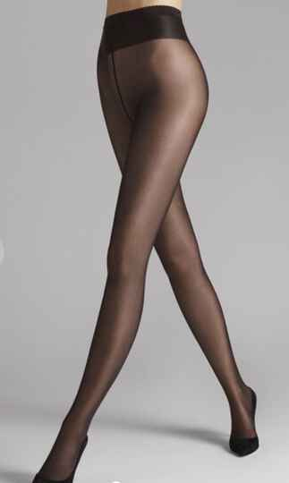 Wolford. NEON 40 TIGHTS NEARLY BLACK.