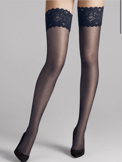 Wolford SATIN TOUCH 20 STAY-UP ADMIRAL.