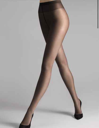 Wolford Sheer 15 Tights 15 Nearly Black