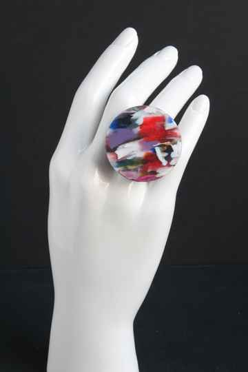 Ring gerecycled acrylaat R20-76
