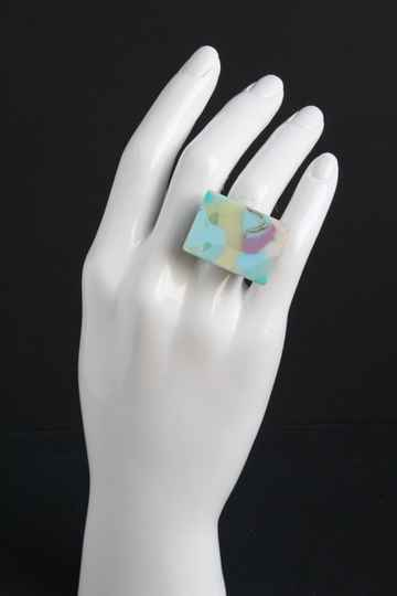 Ring gerecycled acrylaat R20-72