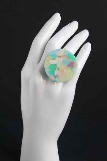 Ring gerecycled acrylaat R20-75