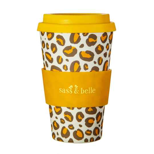 Koffiebeker Collectie Leopard Love Sass & Belle