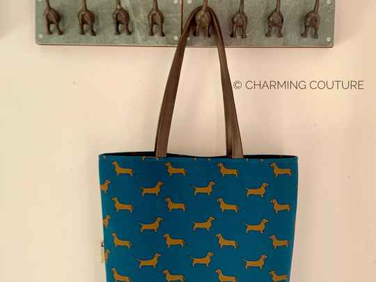Tote Bag - Short haired dachshunds