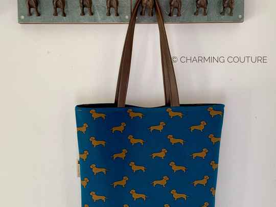 Tote Bag - Wire haired dachshunds
