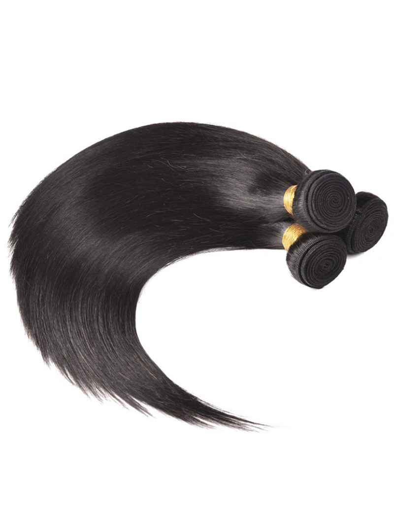 3 PCS INDIAN  HUMAN HAIR WEAVES