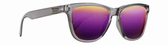 Crux - Transparent grey Frame - Purple Lens