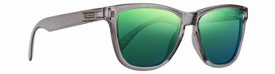 Crux - Transparent grey Frame - Green Lens