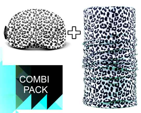 Duo-pack Necky + Goggle Protect leopard