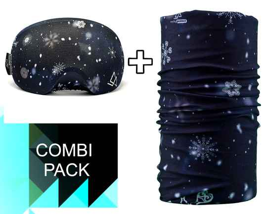 Duo-pack Necky + Goggle Protect snowflakes