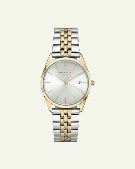 The Ace Silver Sunray Silver Gold 33mm