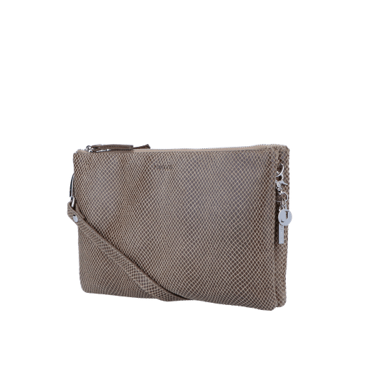 By LouLou crossbody clutch queen taupe