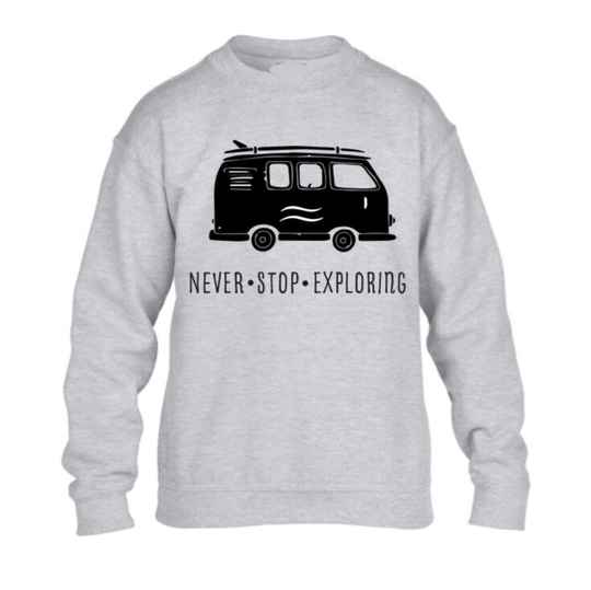 * PRE ORDER * Never Stop Exploring Sweater