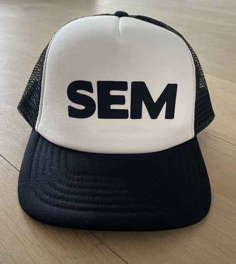 Truckercap Sample SEM