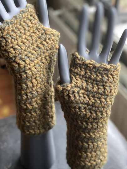 Mittens - Olive Green