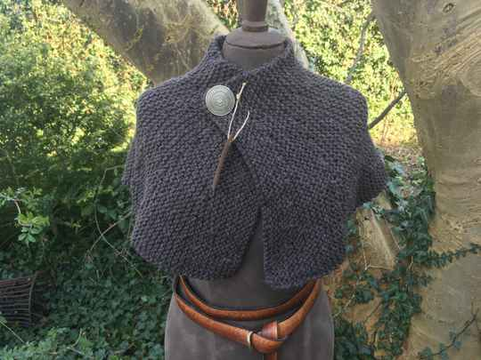 Outlander - Brianna's Capelet, brown