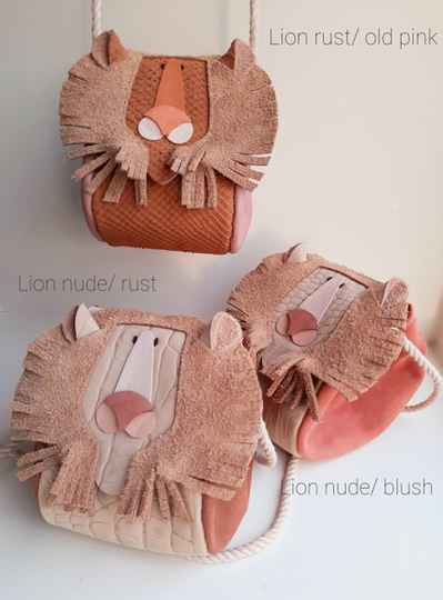 Lion bag (various colors)