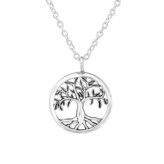 Ketting Sterling zilver Tree Of Live