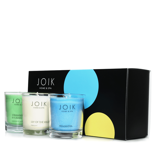 Joik Home & Spa - Vegan Spring Candle trio giftset