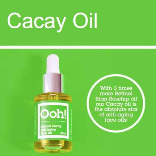 Ooh Oils of Heaven -   Natural Cacay Anti-Aging Face Oil