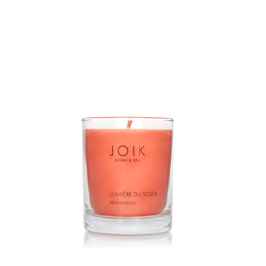 Joik Home & spa - Vegan Soywax scented candle Lumiere du Soleil, 145 gr.