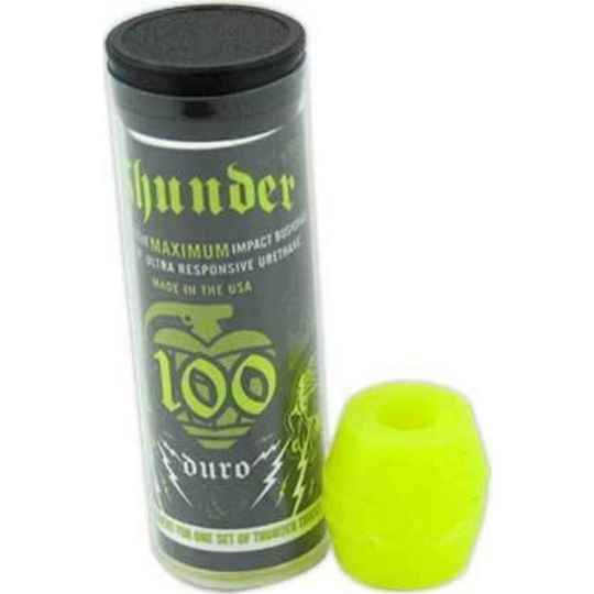 Thunder Bushings 100DU Neon Yellow