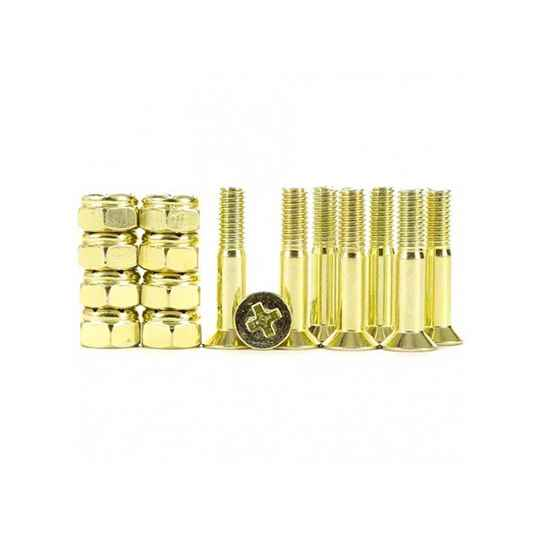 Industrial Anodized Phillips Hardware Yellow 1 Inch