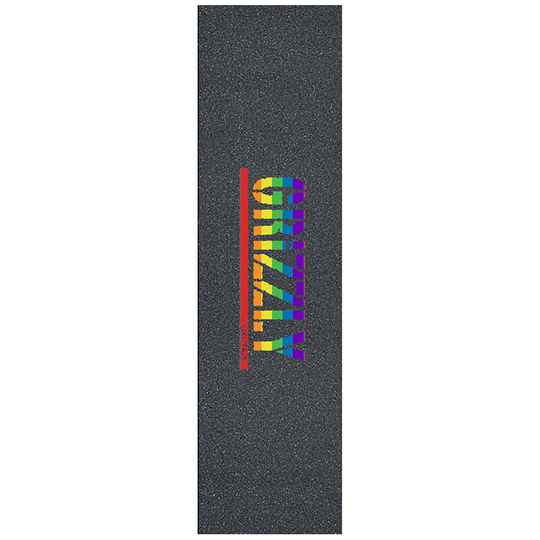 Grizzly Pride Stamp Griptape Sheet 9.0