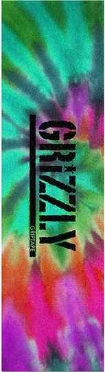 """Grizzly Stamped Tie Dye Grip Tape 9"""""""