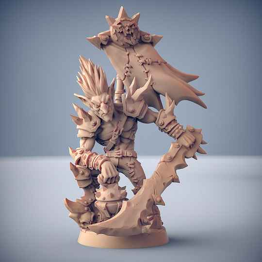 Dzwingo the Tallest - Sparksoot Goblins